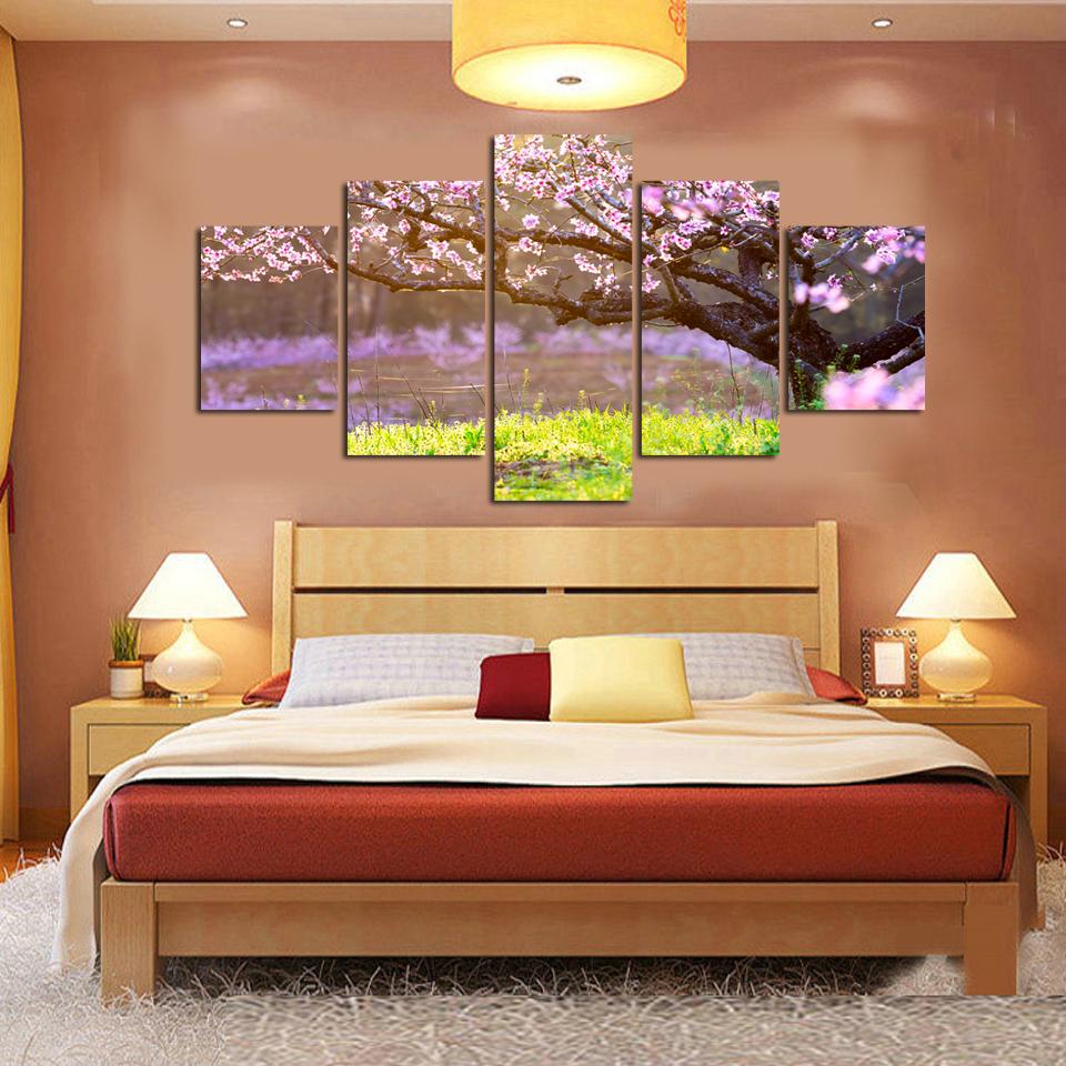 Cherry tree pittura acquista a poco prezzo cherry tree - Pannello decorativo parete ...