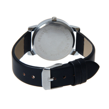 Attractive Top quality 1PC WoMen Quartz Dial Clock Leather Wrist Watch Round Case Wholesale Free shipping