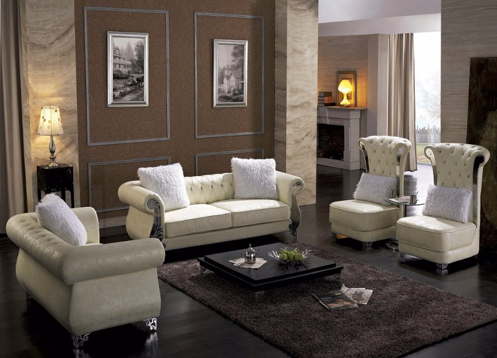 US $1630.0 |2019 Set No Rushed Modern Armchair Sectional Sofa Hot Sale  Italian Style Leather Corner Sofas For Living Room Furniture Sets-in Living  ...