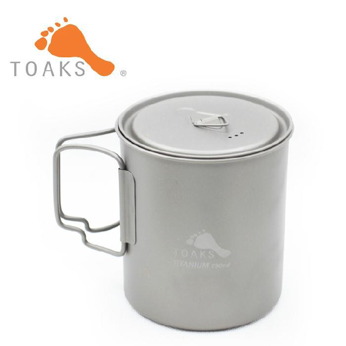 TOAKS 3in1Titanium folding cup ultralight Titanium tableware Titanium pot portable Titanium bowl camping cup Titanium 750ml 110g(China (Mainland))