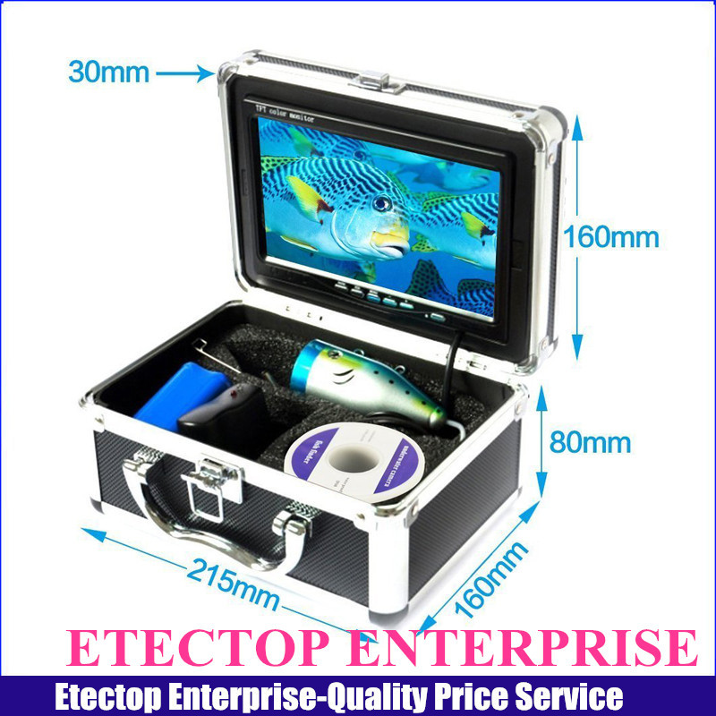 7'' HD Monitor Fish Finder IR Camera GSY7000 With White Lights,Fishing Video Inspection Camera,15m Cable Ice Lake Camera(China (Mainland))