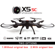 Syma X5SC 2.4G 4CH 6-Axis RC Quadcopter Helicopter RC Dron Professional Drones With Camera VS X6SW X5SW MJX 101 X5C-1 JJRC H20