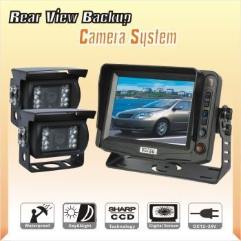 "5"" Mining Vehicle Video Rear View Camera System, Truck Back Up Camera System, Agriculture Reverse Camera System"