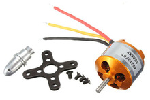 free shipping New A2212 2200KV Brushless Outrunner Motor W/ Mount 6T For RC Aircraft Copter airplane electric motor engine(China (Mainland))