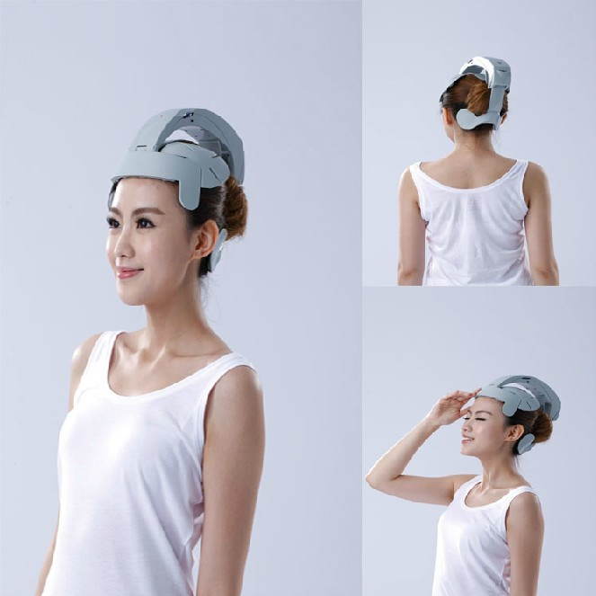 2015 New Promotion Body Health Monitors Humanized Electric Head Massager Healthcare Brain Massage Relax Easy Acupuncture Points(China (Mainland))