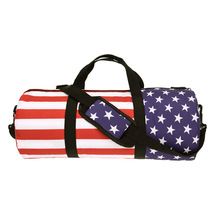 Buy Outdoor Sport Soccer Basketball Training bags Women Gym bag Fitness American flag Printing Shoulder Men Travel Duffle Bag for $13.82 in AliExpress store