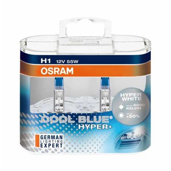OSRAM Cool Blue Hyper+ H1 5000K 62150CBH+ fit for TOYOTA Front Fog Lamp(China (Mainland))