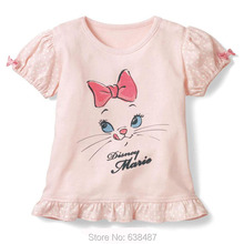 Buy New 2017 Brand 100% Cotton Baby Girls t Shirt Summer Children Clothing Kids Tees Short Sleeve T-Shirts Baby Girls Clothes Blouse for $7.55 in AliExpress store