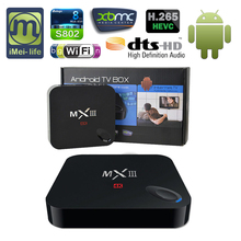 Latest Product 2016 Full HD IPTV Box Amlogic Android 1080P Quad Core Smart TV Box smart tv box player android 4.4
