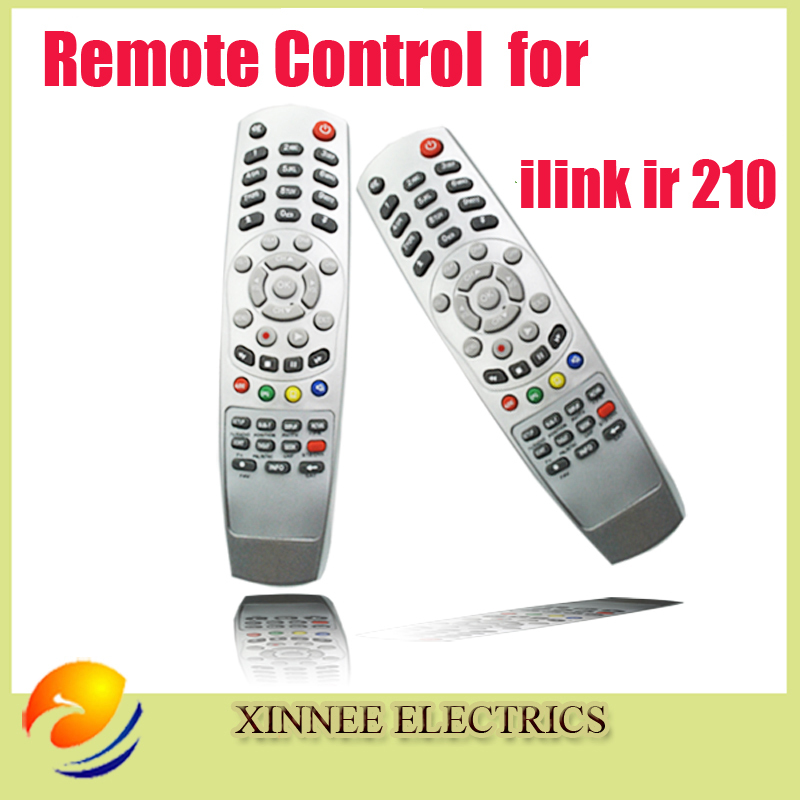 1pc Remote Control for ilink ir 210,Remote Control for HD 1080P Satellite Reciver ilink 210,Free Post Shipping(China (Mainland))