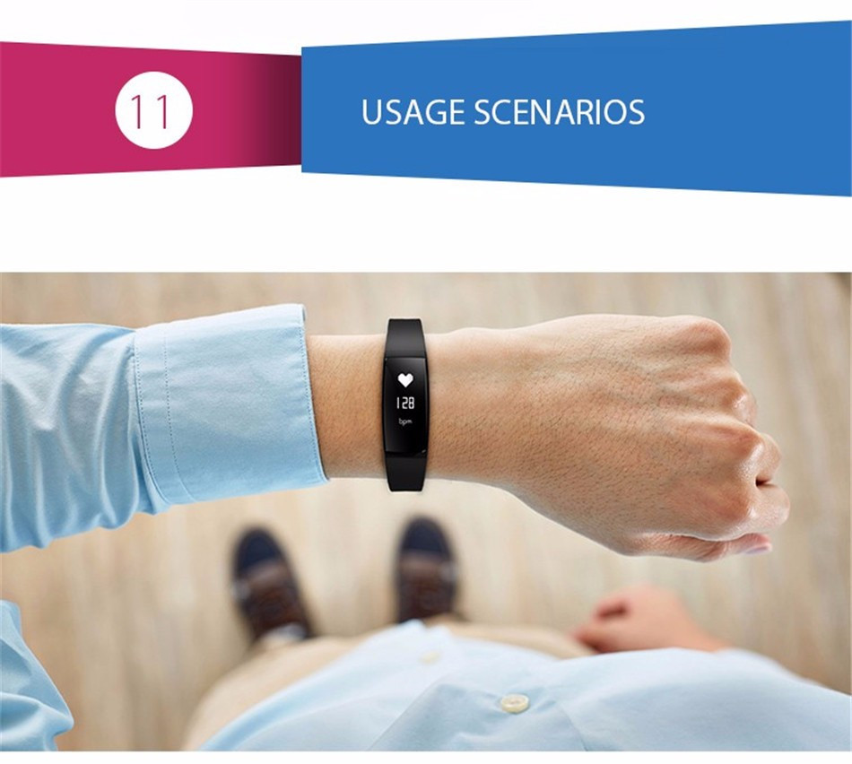 V07 Smart Bracelet Blood Pressure Watches Smart Band Heart Rate Monitor Fitness Pulsometro Activity Tracker for Smartphones
