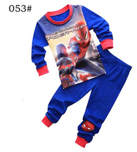 Buy 2-7 years boys&girls pijamas spiderman cotton children pyjamas sleepwear baby kids pajama set spider man toddler boy clothes set for $6.79 in AliExpress store
