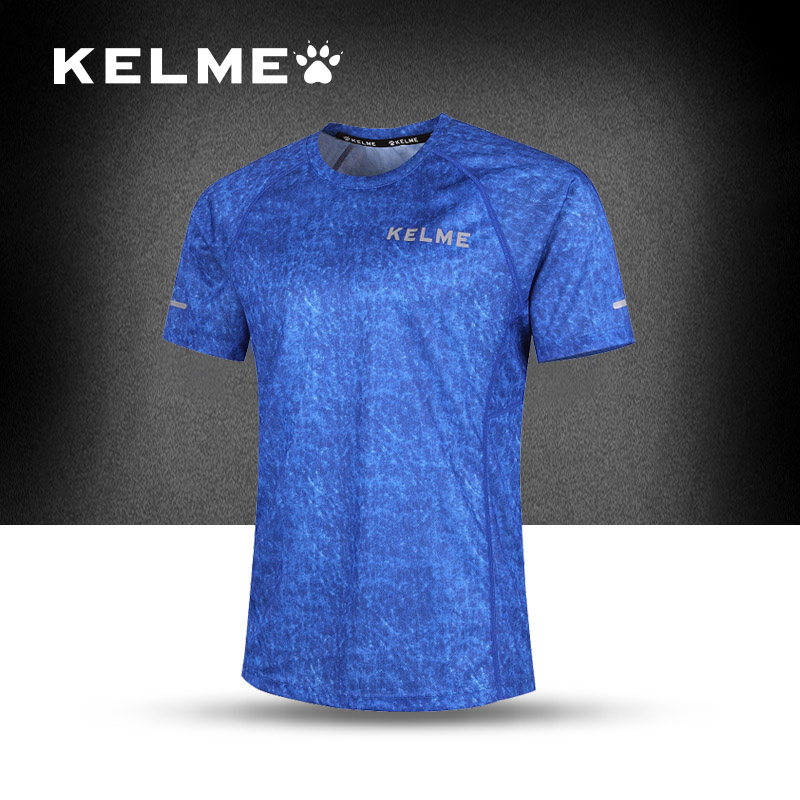 2016 Kelme New Fashion Men's Soccer Jersey Running Clothes Breathable Quick-Dry Football Jersey Popular Training Jersey(China (Mainland))