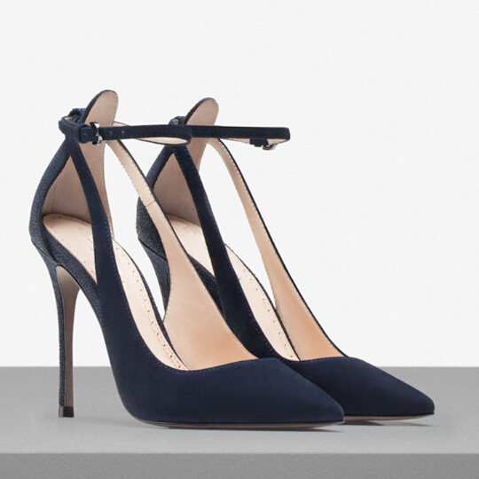 New Sale Vintage Sexy High Heels Pointed Toe High Heels Women Pumps Hollow Out Shoes 2015 Brand New Design Less Platform Pumps(China (Mainland))