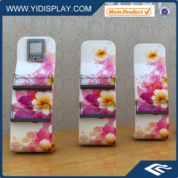 Exhibition Booth Floor Standing Brochure Holders(China (Mainland))