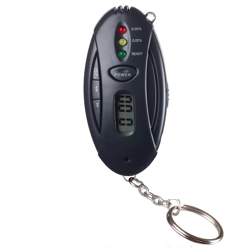 LED Digital LCD Alcohol Tester Analyzer Alcohol Breathalyzer Breath Tester Dropshipping(China (Mainland))