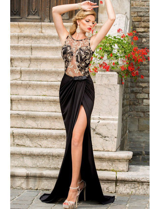 R70347 New arrival ohyeah fashion women dress 2015 top selling floor-length plus size long dresses summer style hot party dress(China (Mainland))