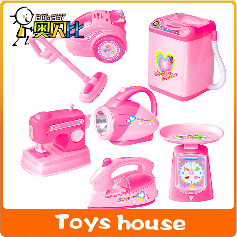 6pcs/lot kitchen toys girls toy vacuum cleaner children's play kitchen pretend toy(China (Mainland))