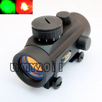 BSA Red Dot Scope 1x30 MOA Red Green Dot Sight Hunting Scope for 20mm Weaver Telescopic Rail Mount RD30/22SB with Free Shipping(China (Mainland))