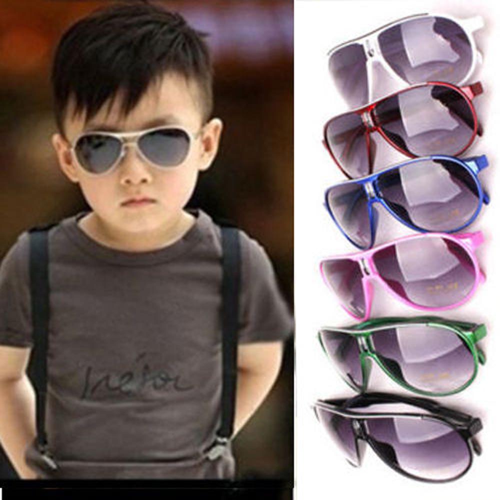 New Fashion Child Cool Sun Glasses Children Boys Girls Kids Plastic Frame Aviator Sunglasses Goggles Eyeglasses FYMPJ041(China (Mainland))