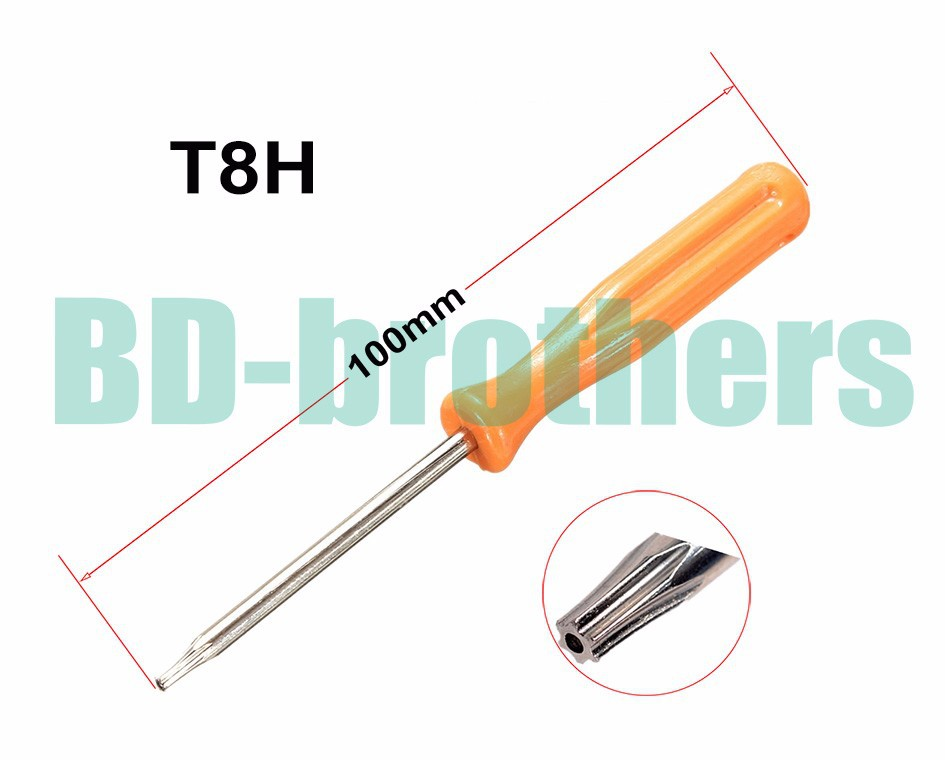 3 x 100mm 45# Steel Screwdriver Phillips Slotted T3 T4 T5 T6 T7 T8 T8H for Xbox360 T10 T10H 2.0Y 3.0Y Screwdrivers 200pcs/lot(China (Mainland))