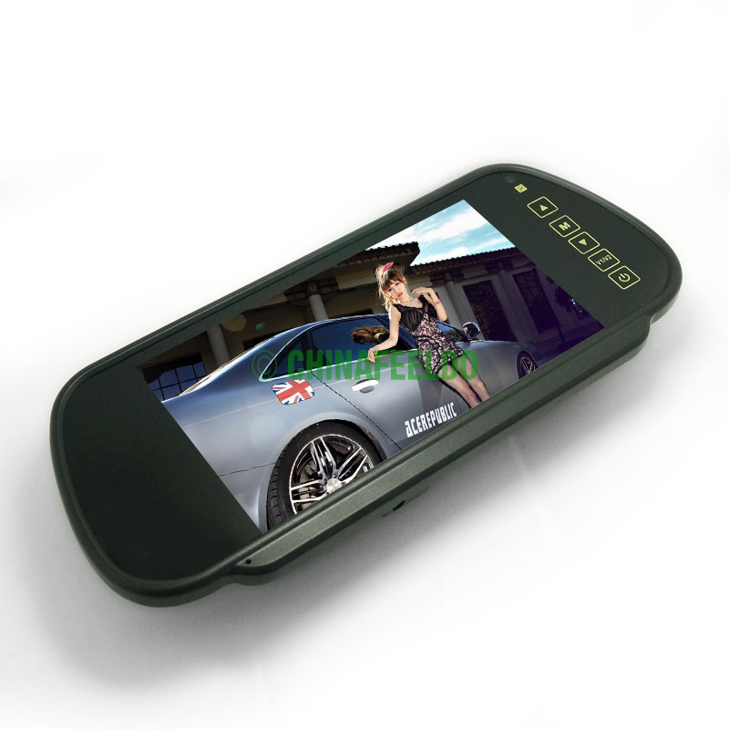 """7"""" inch 16:9 Car Rearview Wide Screen TFT LCD Monitor #J-1791(China (Mainland))"""