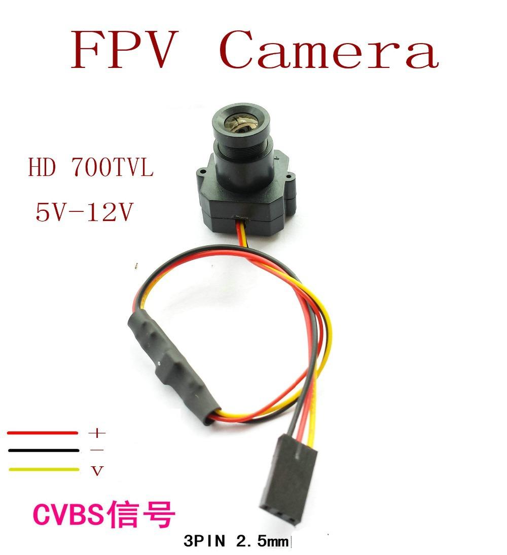 New Micro FPV Camera HD Mini 700TVL 3.6mm Wide Angle Lens CCTV Camera FPV aerial cameras, FPV Accessories camera