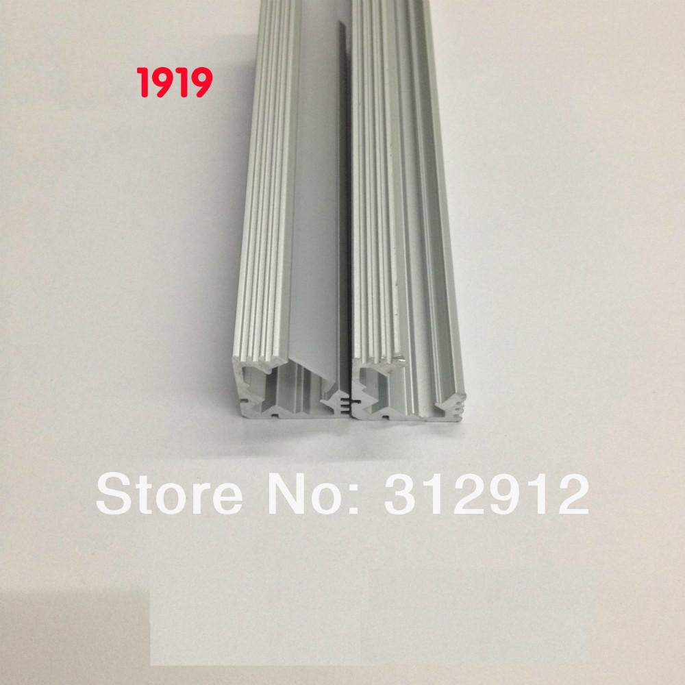 Здесь можно купить  RA-1919;1M long LED aluminum profile(anodized silver color) with PC cover;for flexibe or hard LED strips  Свет и освещение