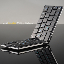 New Mini Wireless Bluettoth Keyboard Foldable Keyboard Compatible for IOS Windows Android Tablet Smartphone