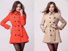 women winter jacket,casual parka women winter coat,casual overcoat,women's cotton padded jacket 2014 winter,free shipping