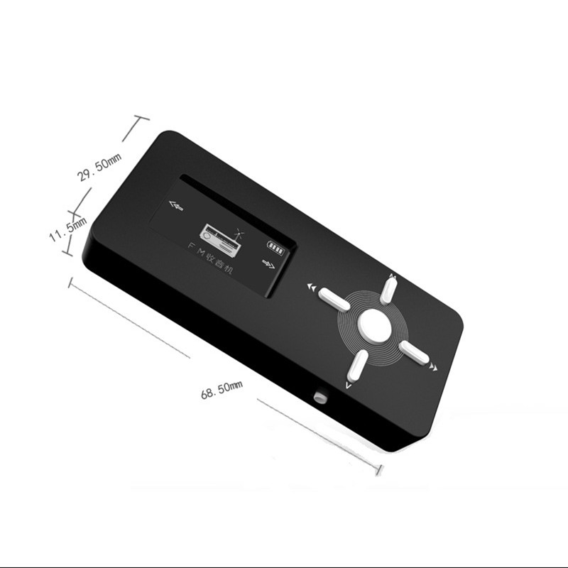 High Quality HiFi Lossless 8GB Mini MP3 Music player with Screen Sport Download mini mp3 Music Player Portable Recording Player(China (Mainland))
