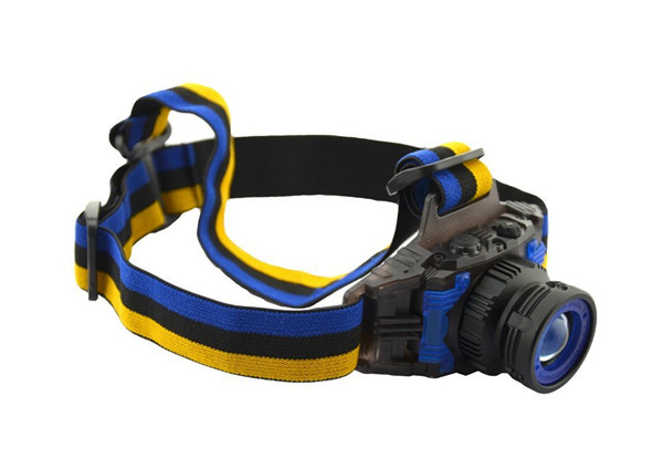 Гаджет  Ultra-light Zoomable Rotating LED Headlamp Headlight With Built-in Lithium Battery For Camping Hiking Headlamp Flashlight Hot!!  None Свет и освещение