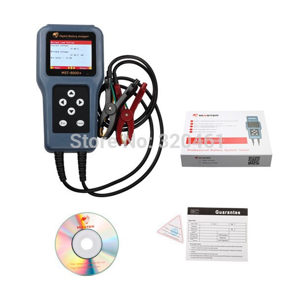Wholesale - digital battery analyzer MST8000+ without printer(China (Mainland))