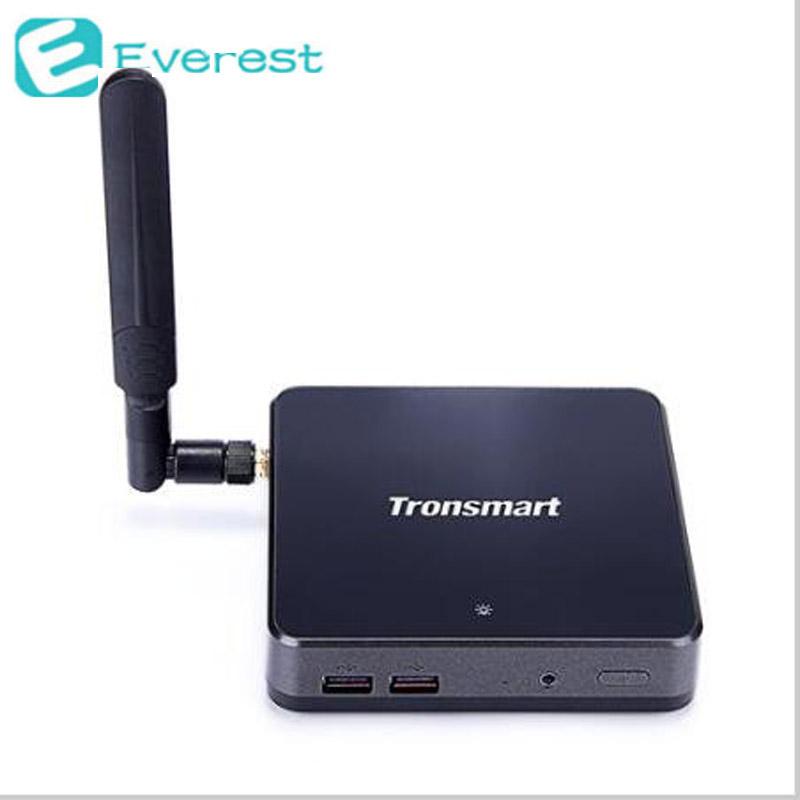 Tronsmart Ara X5 Plus Windows 10 Mini PC TV Box Cherry Trail Z8300 Quad Core 1.8G 2G/32G 802.11AC WiFi HDMI USB3.0(China (Mainland))