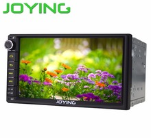 "Joying Lastest 7"" Double 2 Din Android 4.4.4 Universal Car Radio Quad Core 1024*600 HD Car GPS Navigation Best Head Unit(China (Mainland))"