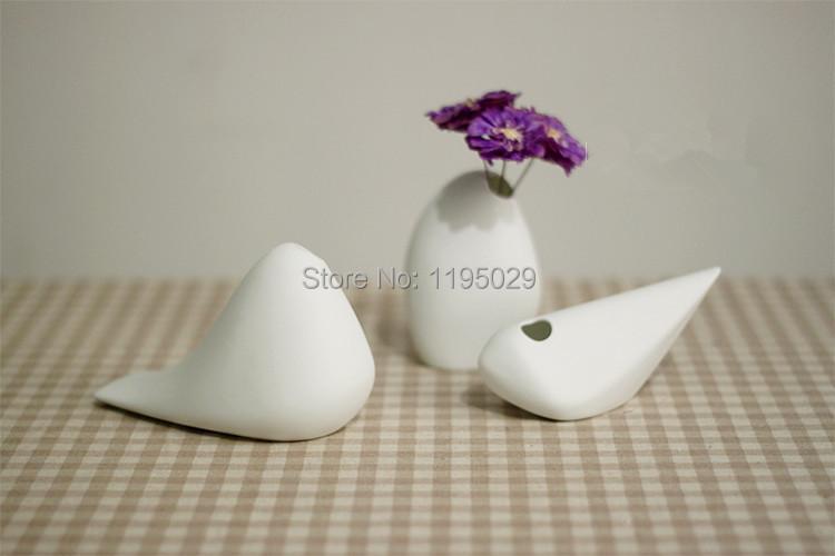 ASA Selection big vase European Germany ceramic white vases middle porcelain vase super white Creative animal bird vase(China (Mainland))