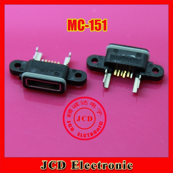 10X 100% New Mini micro USB connector jack charging port Replacement Parts for Xiaomi M4 Mi4 phone