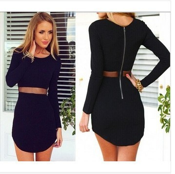 Женское платье New 2015 Roupas Femininas Zip Bodycon  Others женское платье dear lover roupas vestido estampado flouncing bodycon lc21600