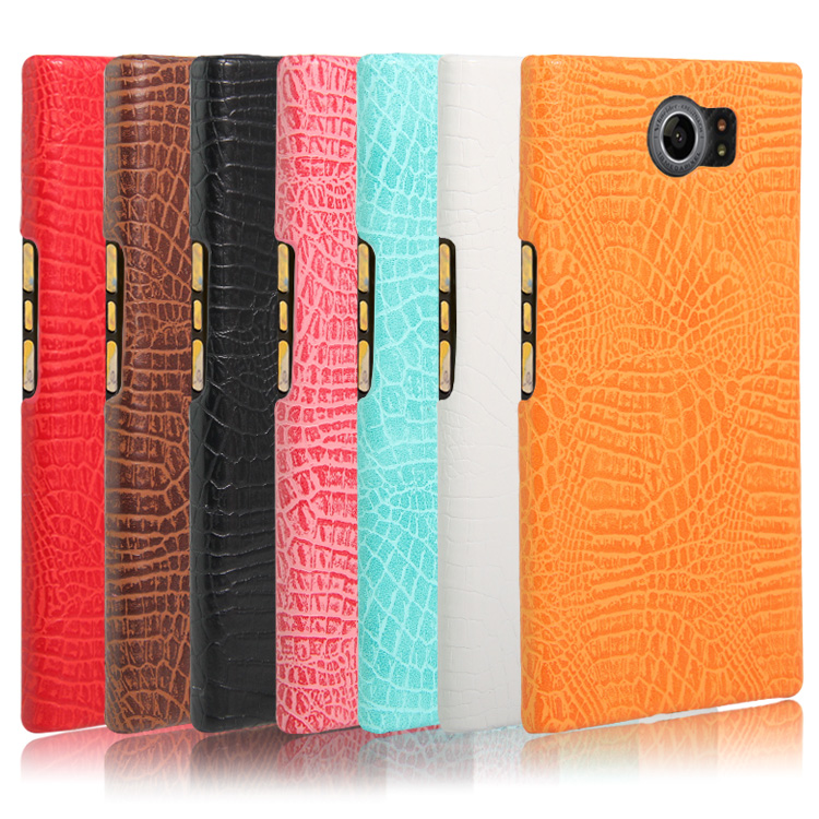 2016 New arrival For Blackberry Priv Case Luxury Crocodile Skin Case Cover For Blackberry Priv Phone Bag Case(China (Mainland))
