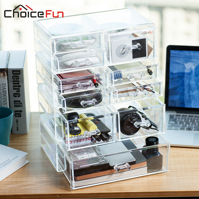 CHOICEFUN Luxury Plastic Storage Boxes Container CD/caddy/holder Office Accessories Home Desk Organizer box SF-2179-1543(China (Mainland))