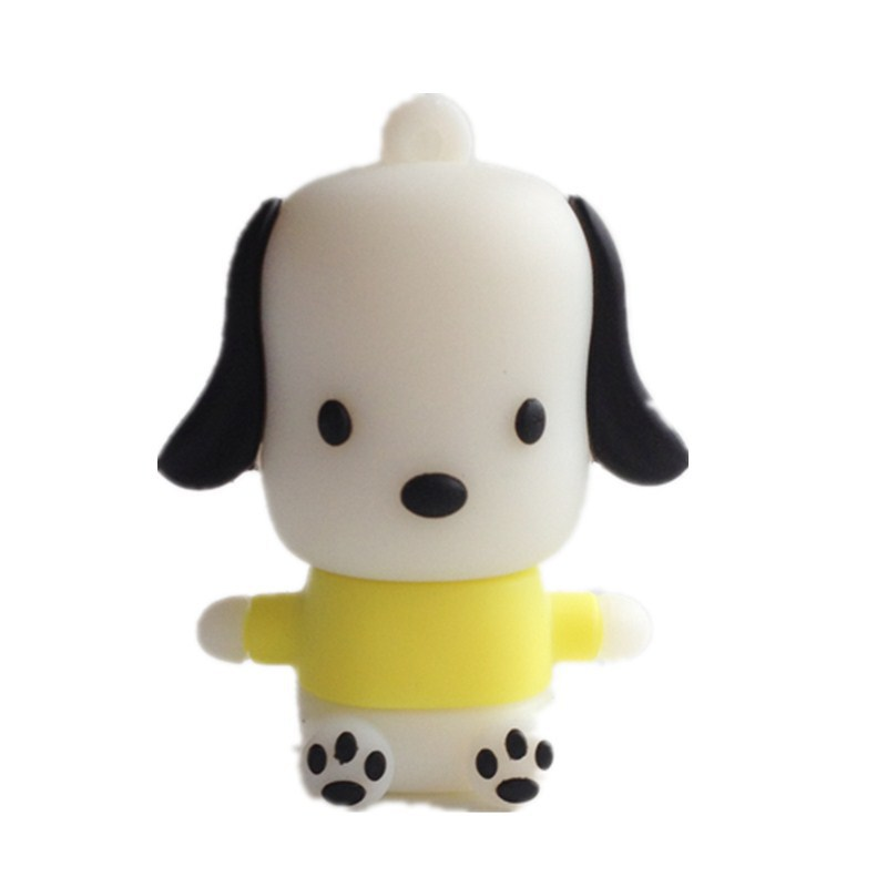 Wholesale Pen Drive Cartoon happy dog Gift 4GB 8GB 16GB 32GB 64GB pet Dog animal Usb Flash Drive Pendrive Free Shipping(China (Mainland))