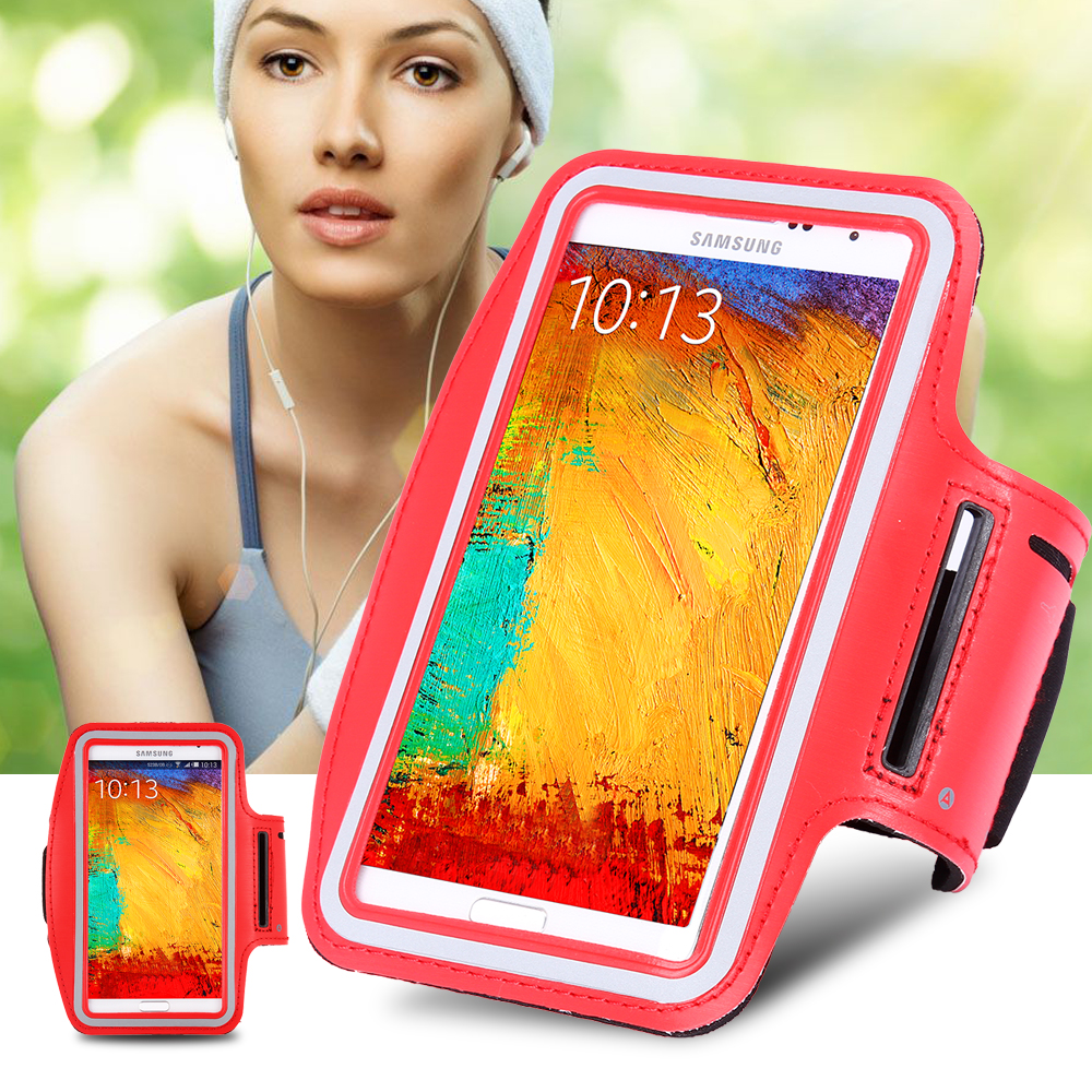 For Samsung Galaxy S4 Mini/Core Prime/S5 Mini General Sports Running Arm Band Case Waterproof Gym Workout PU Leather Cover Case(China (Mainland))