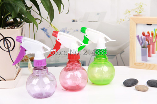 Round mini watering can flowers gardening supplies Potted Plants plastic Pouring kettle humidification spherical - jackie store