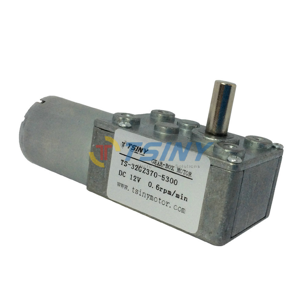 High quality 12V/0.6R Low speed Electric Motor,DC metalgear motor with gearbox,Free Shipping(China (Mainland))