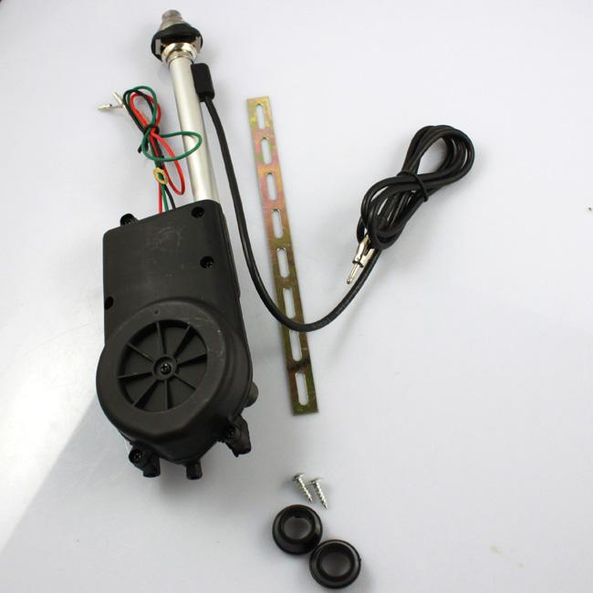 2015 nieuwe universele elektrische antenne vervangen kit auto ben fm radio antenne mast 12v ons(China (Mainland))