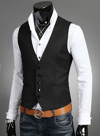 New arrival 2015 mens formal vests colete waistcoat masculino high quality dress vests slim fit social men clothing J561