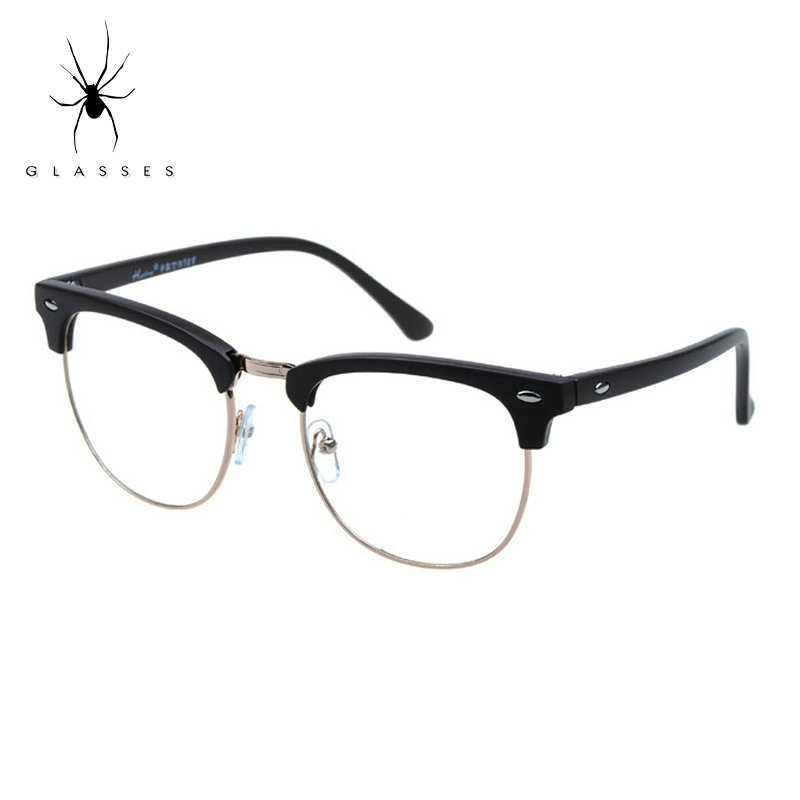 Big Plastic Frame Glasses : Retro fashion glasses frame and rivet goggles frame ...