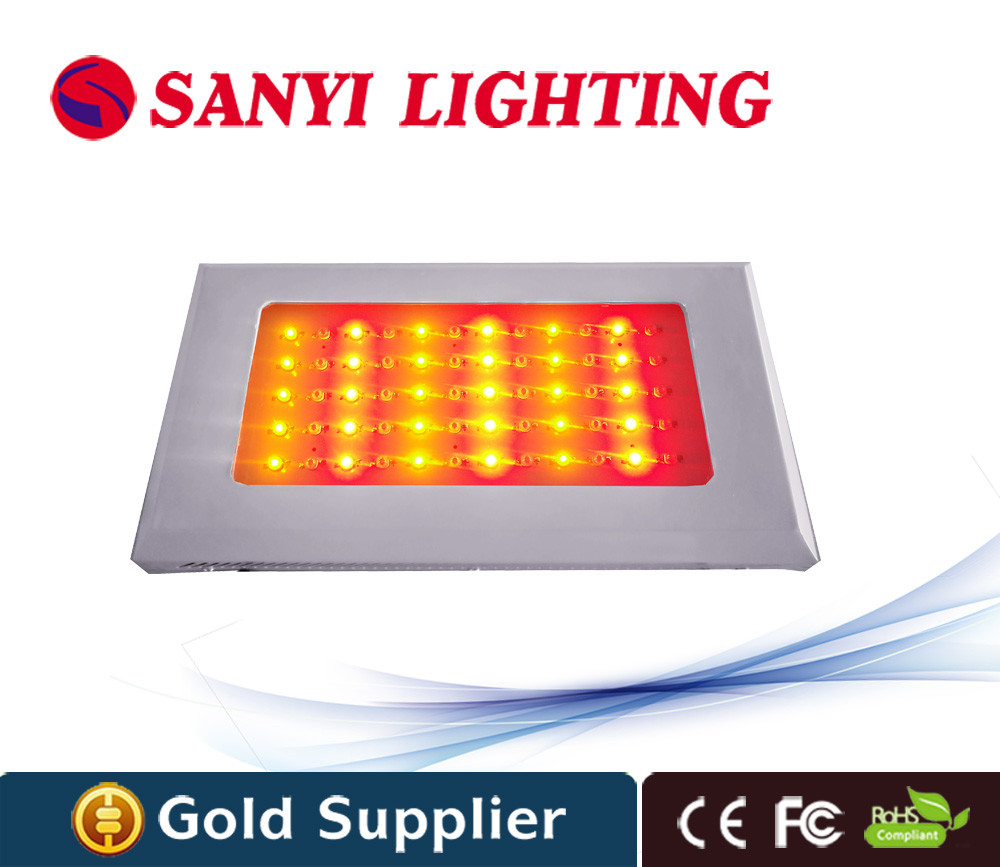 Greenhouse 60 watt grow led light all red 630nm with CE FCC RoHS certification for indoor plants