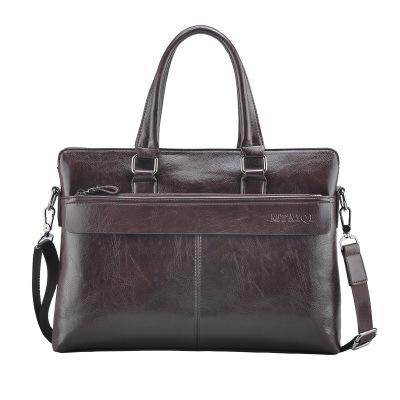 Business men handbag PU material vintage men tote elegant design laptop male bag attractive briefcase<br><br>Aliexpress
