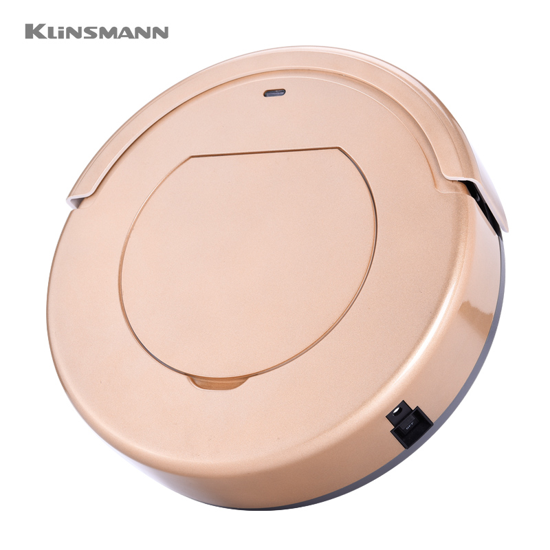 KLINSMANN KRV205 Vacuum Cleaners with remote controller.household cleaning intelligent robot with time schedule(China (Mainland))